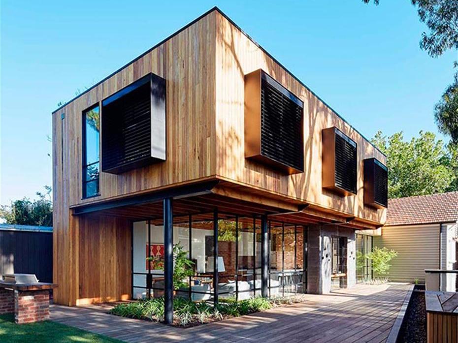 Casas de madeira voltam a ser vedetes